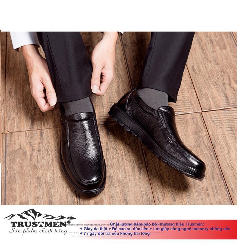 Giày nam công sở giày tây nam cho doanh nhân Trustmen GLG055