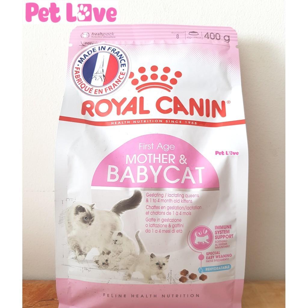 Thức ăn Hạt Royal Canin Cho Mèo Mẹ Và Mèo Con (gói 400g) Siêu Tiết Kiệm