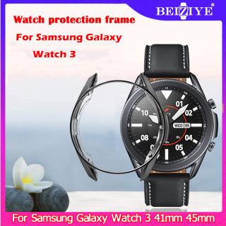 Vỏ mạ điện cho đồng hồ samsung galaxy 3 41mm 45mm TPU mềm toàn diện Khung viền bảo vệ xung quanh thumbnail