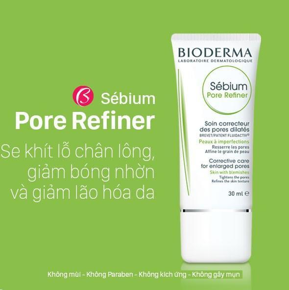 Kem Bioderma Sebium Pore Refiner 30ml