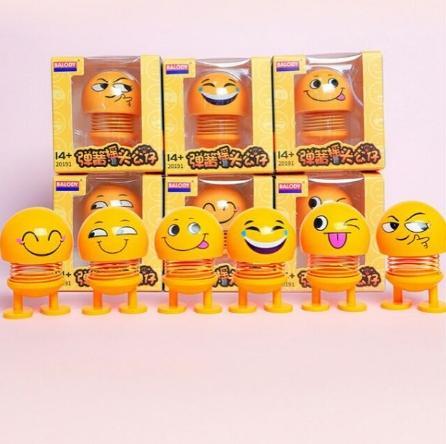 Hot trend Bộ đồ chơi Emoji Lò Xo - Đồ chơi giảm stress,thú Nhún Emoji - Emoji Lò Xo - Emoji Cười - Thú Nhún Lò Xo - Thú Nhún - Emoji Lò Xo Ngộ Nghĩnh - Đồ Chơi Tiêu Khiển - Trang Trí Xe Hơi