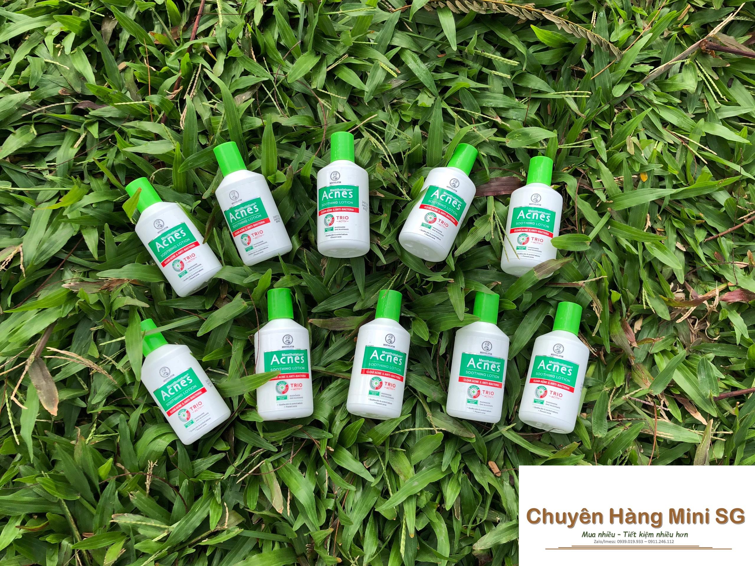 Set 7 chai dung dịch dưỡng dịu da kháng khuẩn và ngừa mụn Acnes 25ml cao cấp