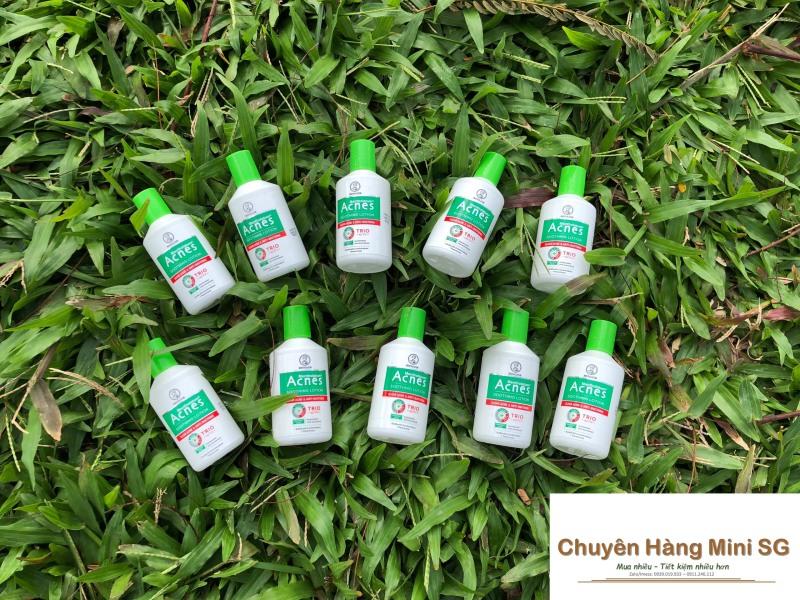 Set 7 chai dung dịch dưỡng dịu da kháng khuẩn và ngừa mụn Acnes 25ml nhập khẩu
