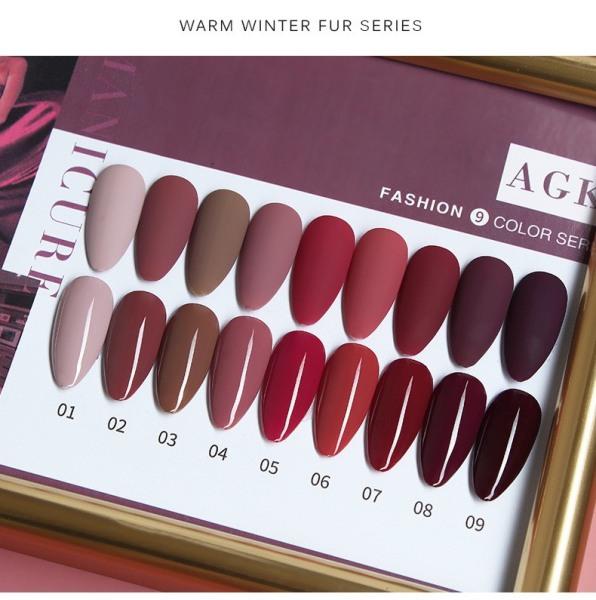 Sơn gel AS bền màu cực kì mướt 15ML (dành cho tiệm nail chuyên nghiệp) - AGK