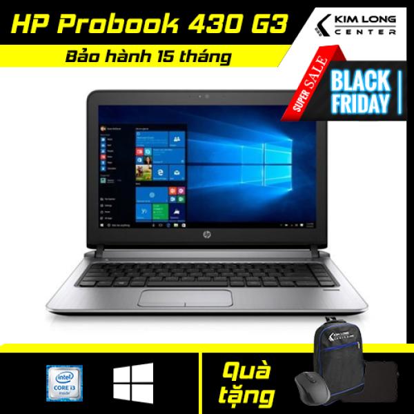 Bảng giá [NHẬN NGAY VOUCHER 500K] Laptop giá rẻ HP Probook 430 G3 : i3-6100U   8GB RAM   120GB SSD   HD Graphics 520   13.3 HD   Win10 Pro   Black Phong Vũ