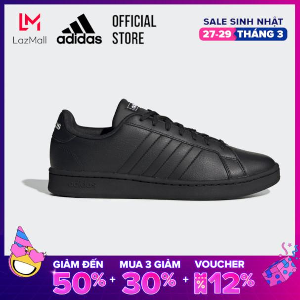 adidas TENNIS Giày Grand Court Nam Màu đen EE7890 giá rẻ