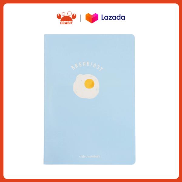 Vở kẻ ngang 80 trang Crabit - Fried Egg Trứng
