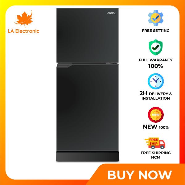 Trả Góp 0% - Tủ Lạnh Aqua  130 lít AQR-T150FA BS, công nghệ làm lạnh đa chiều, kháng khuẩn, khử mùi với công nghệ Nano Fresh Ag+ - Bảo hành 24 tháng - Miễn phí vận chuyển HCM