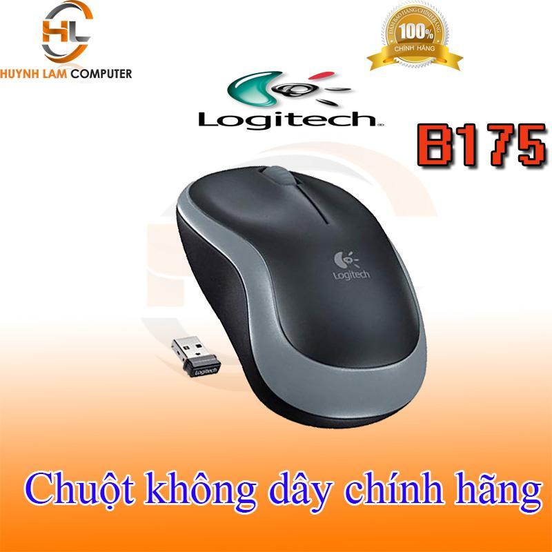 Voucher tại Lazada cho Chuột Logitech - Chuột Máy Tính Không Dây Logitech B175 DGW Phân Phối
