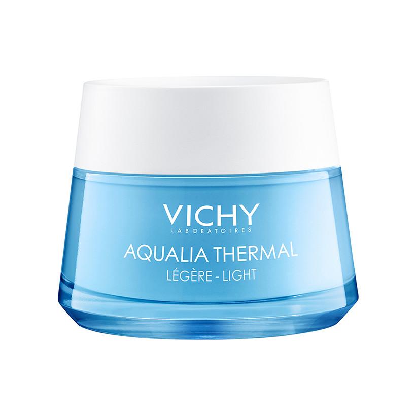 Kem dưỡng ẩm và cung cấp nước cho da giúp căng mịn và ẩm mượt Vichy Aqualia Thermal Rehydrating Cream-Light 50ml