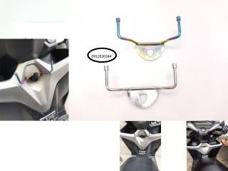 Móc treo đồ xe VARIO có inox & xi titan thumbnail