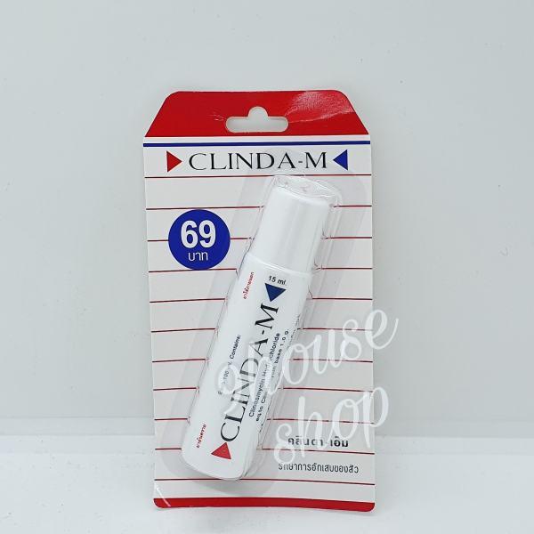 01 Serum Chấm M ụn CLINDA-M Thái Lan 15ML nhập khẩu