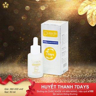 Serum huyết thanh trắng da 7days giúp da sáng- khỏe -căng mọng giảm nhăn và đàn hồi Queenie Skin 50ml thumbnail