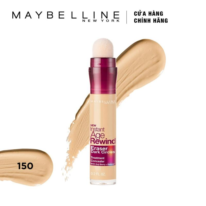 Bút cushion che khuyết điểm, giảm quầng thâm Maybelline New York Instant Age Rewind Concealer 6.2ml cao cấp