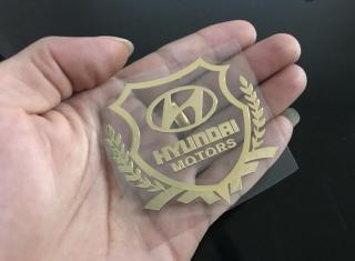 Bộ 2 Logo Decal 3D dán xe ô tô thumbnail