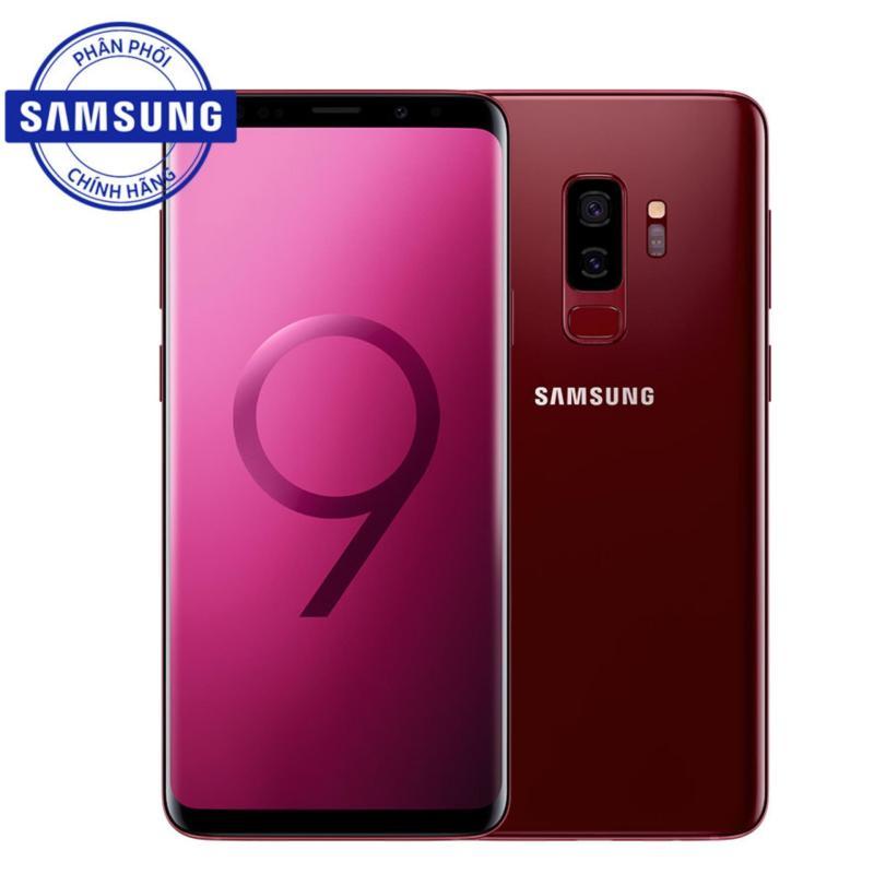 Điện thoại Samsung Galaxy S9+ (Đỏ Vang) - Hàng chính hãng