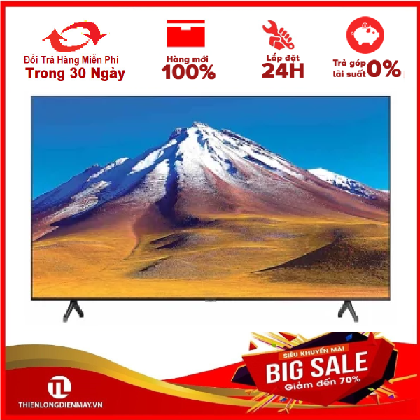 Bảng giá Smart Tivi Samsung 4K 50 inch UA50TU6900