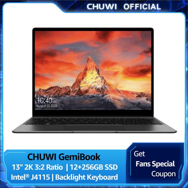 Bảng giá CHUWI Official GemiBook Windows 10 Laptop   13 2K IPS Screen LPDDR4X 12GB 256GB SSD   Intel Celeron J4115 Quad Core 2.5Ghz   Dula Brand Wifi BT 5.1 Lightweight NoteBook 1 Year Warranty Phong Vũ