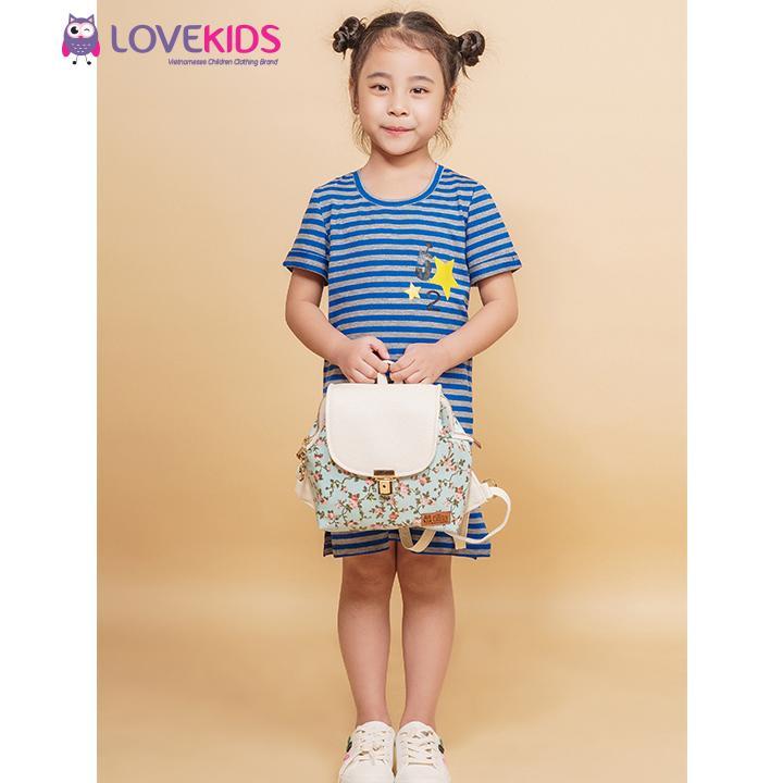 Giá bán Váy suông kẻ xanh Best Fried Lovekids - LK0067
