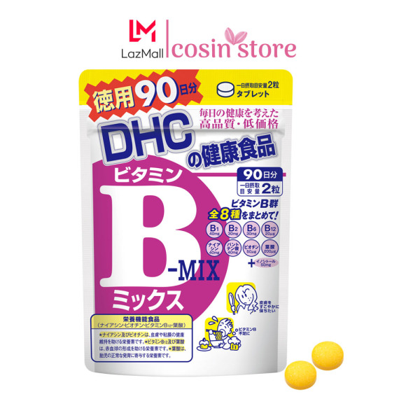 Viên uống DHC Vitamin B mix 90 ngày dùng 180 viên dùng của Nhật Bản - bổ sung Vitamin nhóm B