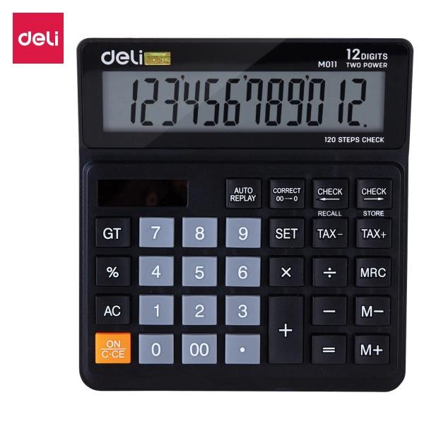 Mua Máy tính cỡ trung DELI - Đen - 1 chiếc - EM01120