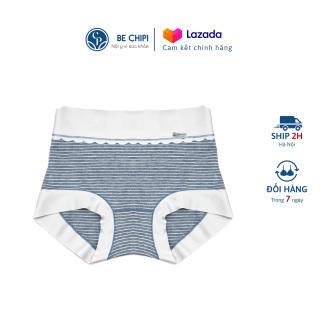 Quần Lót Nữ Cotton Cạp Cao Gen Bụng - Co Dãn Tốt - Freesize (60-80kg) By BECHIPI - QL0519 thumbnail