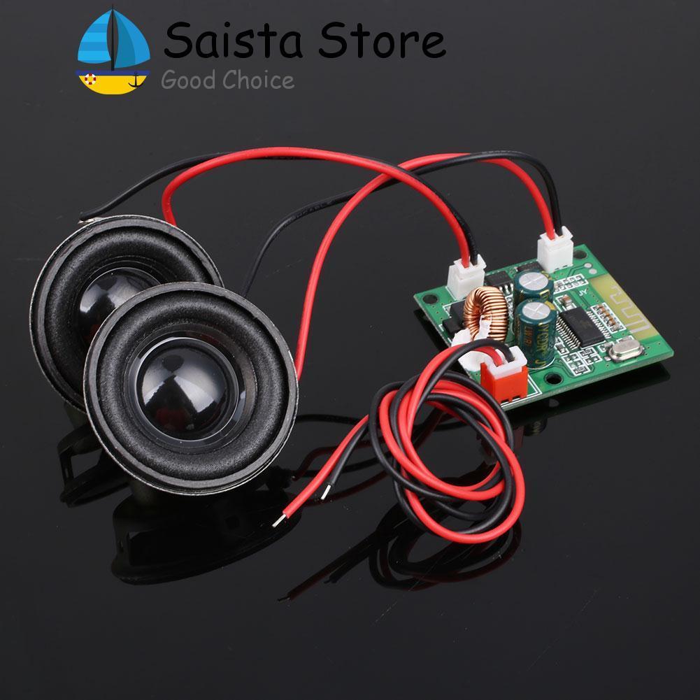 Bảng mạch khuếch đại loa đôi mini kết nối Bluetooth có 1 vòng xoay - INTL