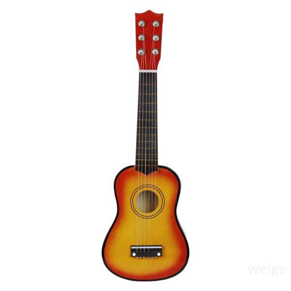 21 inch Gỗ Acoustic Guitar Cổ điển Guitar Nhạc cụ Người mới bắt đầu Âm nhạc Người yêu thích Quà tặng Trẻ em pcsEZ8JM