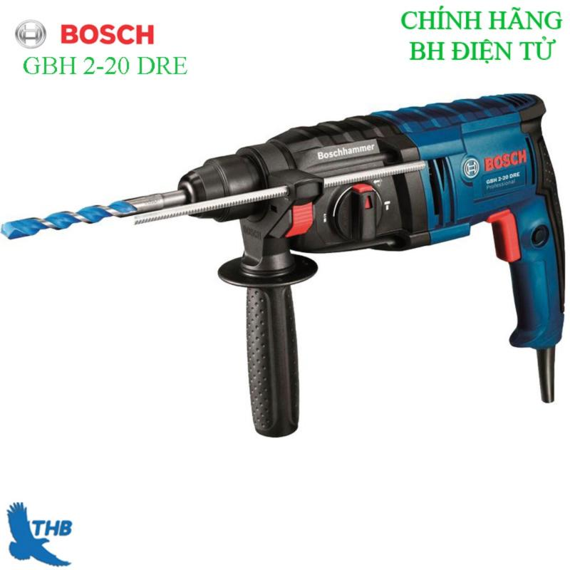 Máy khoan búa Bosch GBH 2-20 DRE + Phụ kiện