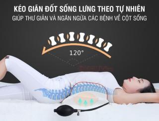 Đệm massage lưng rung nóng nhiệt hồng ngoại YIJIA YJ-M4 7
