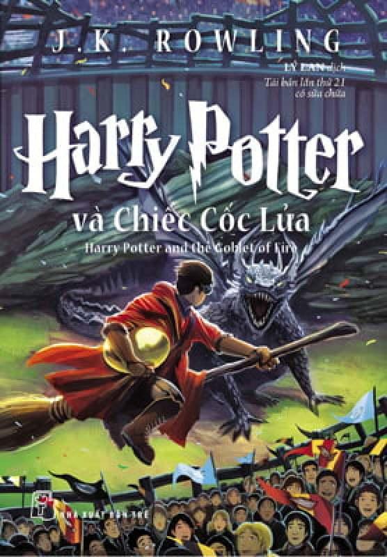 Fahasa - Harry Potter Và Chiếc Cốc Lửa - Tập 4 (Tái Bản 2017)