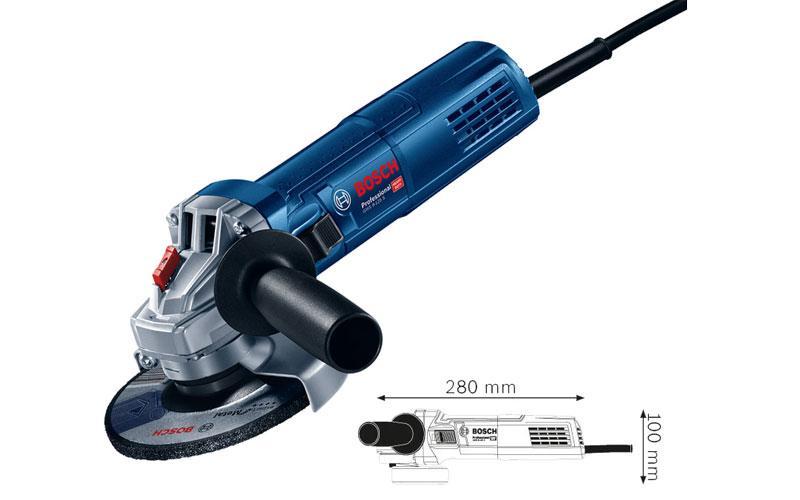 Máy mài góc nhỏ, Máy mài Bosch, Máy cắt ống thép, Bosch chính hãng GWS 900-125S ( Đá 125mm, Bảo hành điện tử 12 tháng, công suất 900W)