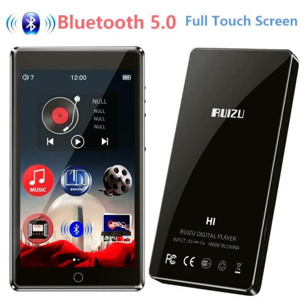 Máy Nghe Nhạc bluetooth, màn hình cảm ứng full HD 1080p RUIZU H1