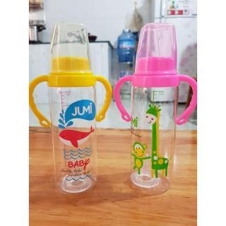 Bình Sữa Có Tay Cầm Jumi Cho Bé 120ml thumbnail