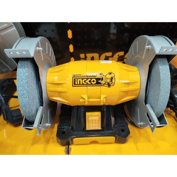 MÁY MÀI ĐỂ BÀN 2 ĐÁ 6 (150mm) 150W INGCO BG61502- HÀNG CHÍNH HÃNG