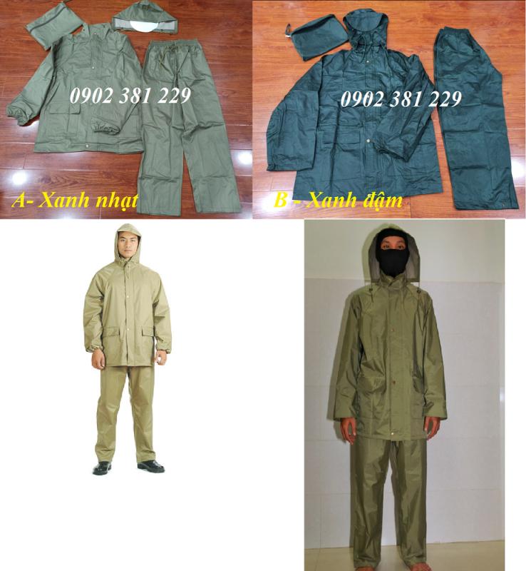 KHUYẾN MÃI - Bộ quần áo mưa dày dặn siêu bền - 2 màu lựa chọn - hình thật