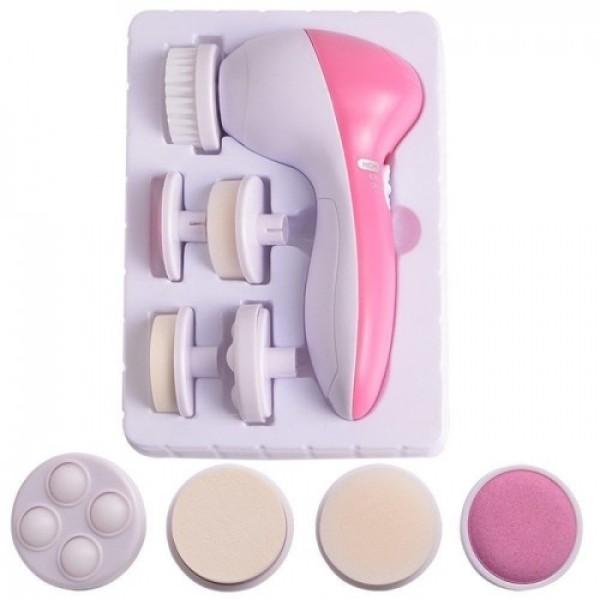 Máy Massage Mặt 5in1 và Chà Tẩy Tế Bào Chết Gót Chân - Dụng Cụ Massage tại nhà ̀5 công dụng tiện lợi cao cấp