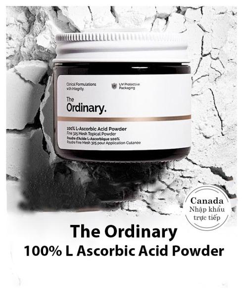 The Ordinary. 100% L-Ascorbic Acid Powder Bột Vitamin C Làm Sáng Da Mờ Thâm Đều Màu Da Tăng Hiệu Quả Kem Chống Nắng Whitening Skin Care giá rẻ
