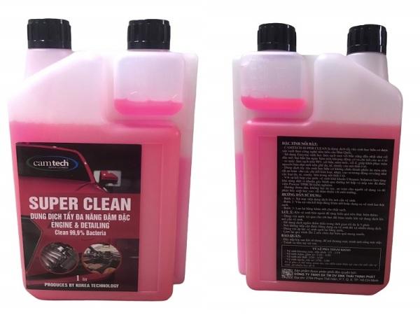 DUNG DỊCH TẨY RỬA ĐA NĂNG ĐẬM ĐẶC SUPER CLEAN 1L