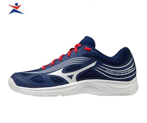 Giày cầu lông CYCLONE SPEED 3 Mizuno V1GA218064 dành cho nam, mẫu mới, đế kếp, chống lật cổ chân