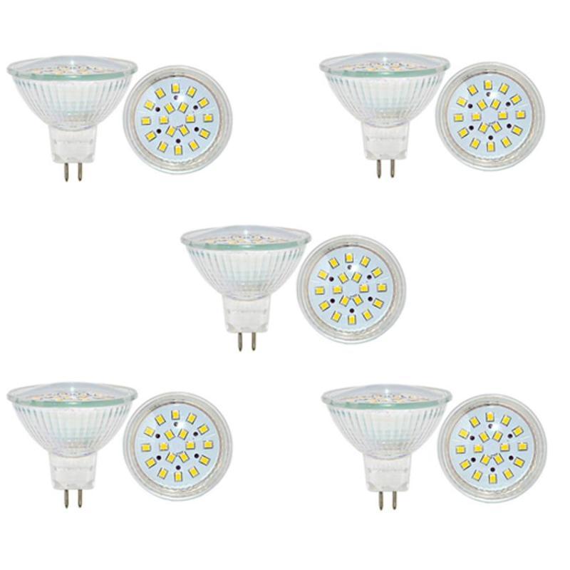 Bộ 5 bóng đèn Led (bóng Led chén) chiếu điểm chân ghim 5W