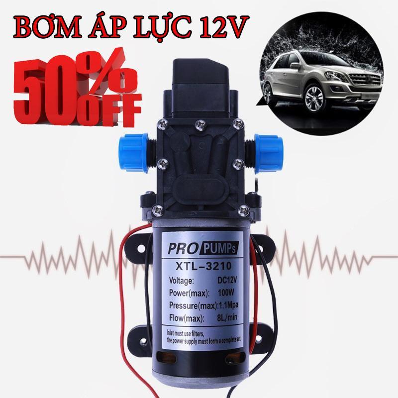 Máy bơm nước mini , Máy Bơm áp Lực,Máy bơm chìm,Máy bơm nước đa năng mini 12V-60W -  Mua ngay Máy bơm nước đa năng mini 12V-60W (màu đen)  giá tốt