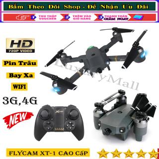 Mua flycam mini giá rẻ, Flycam Full Hd-Máy bay điều khiển từ xa XT-1 kết nối Wifi quay phim chụp ảnh Full HD 720P, Camera Chống Rung,Hình ảnh sắc net Full HD- Chất lượng vượt trội - Bảo hành chu đáo thumbnail