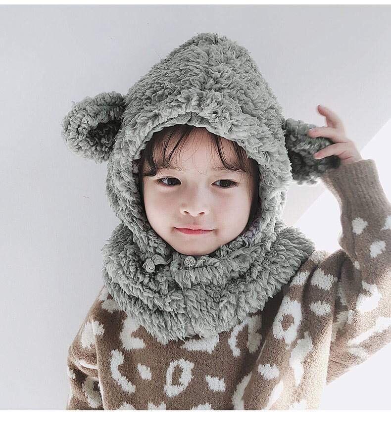 Giá bán [ ĐẢM BẢO CHẤT LƯỢNG GIÁ SỈ TOÀN QUỐC ] Mũ len cho bé gái, Mũ len nữ, Mũ len, Mũ len nữ Hàn Quốc, MŨ LEN 100% TỪ LÔNG CỪU MỀM MẠI , MŨ LEN TAI CỪU , Mũ len kèm khăn, Mũ len trùm đầu, Mũ len trẻ em QBIN Shop, LAXADA, HAPPY CHILL