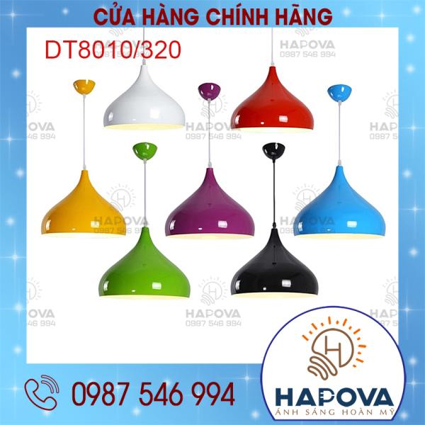 Bảng giá Đèn trang trí phòng khách Chao đèn thả hình giọt nước HAPOVA DT 8010/320/1