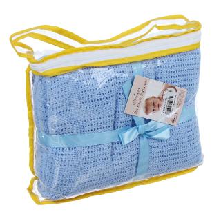 Chăn lưới xuất Nga chống ngạt cho bé sơ sinh, chăn ủ, chăn hè, chăn cho bé sơ sinh thumbnail