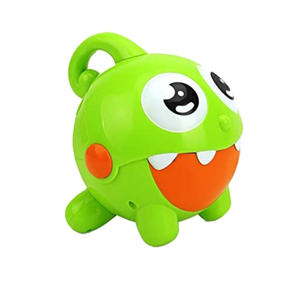 One-Key Bubble-Out Electric Cartoon Bubble Machine Childrens Bubble Machine Toy