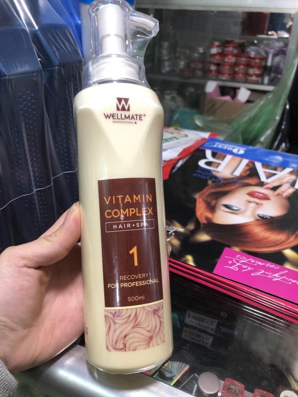 Phục Hồi Chống Rối Vitamin Complex WELLMATE Chai số 1 500ml cao cấp