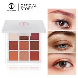 Bảng phấn mắt O.TWO.O lì có 9 ô màu, trọng lượng 110g (có nhiều loại để lựa chọn) - INTL thumbnail