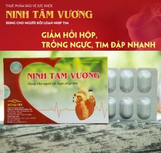 Ninh Tâm Vương - Dùng cho người rối loạn nhịp tim thumbnail